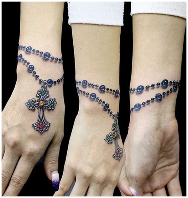 50 Best Bracelet Tattoos Ideas Bracelet tattoos are very famous in boys and girls. 50 best bracelet tattoos ideas