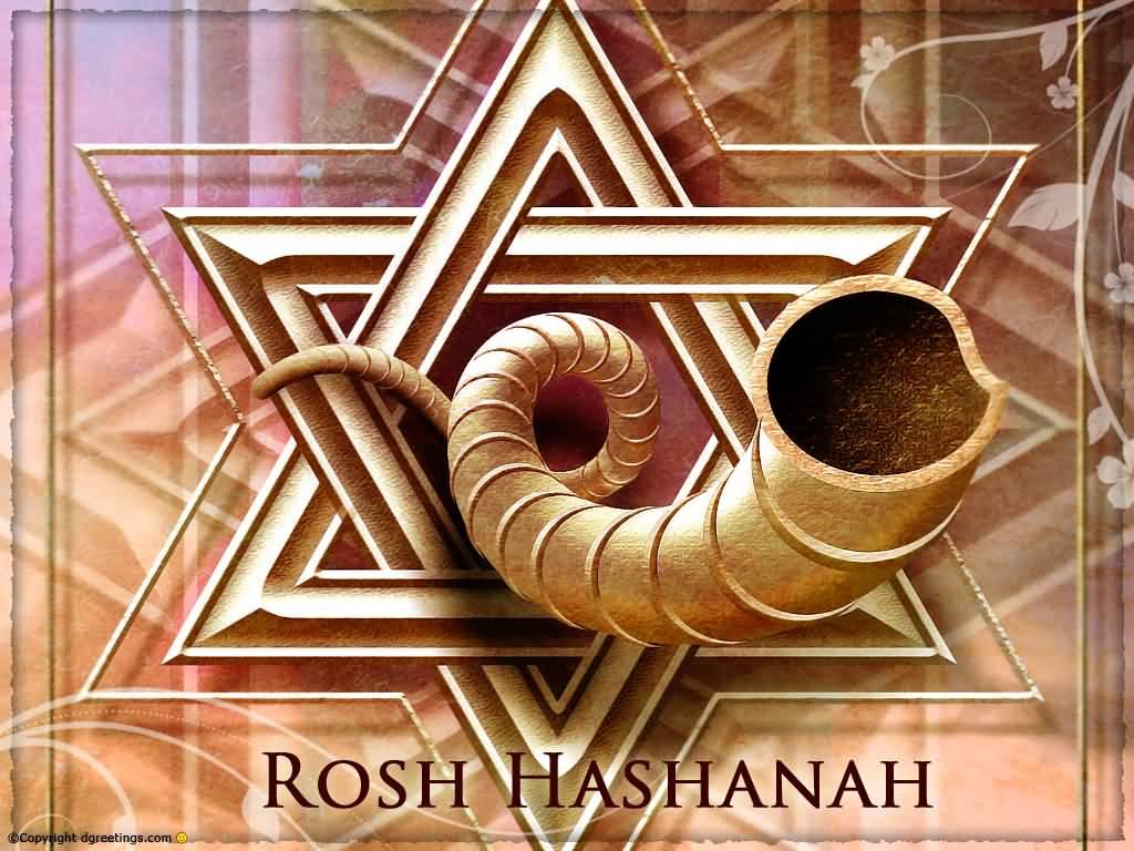 Rosh Hashanah Greetings Hd Wallpaper