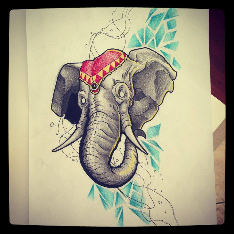 38+ Traditional Elephant Tattoos