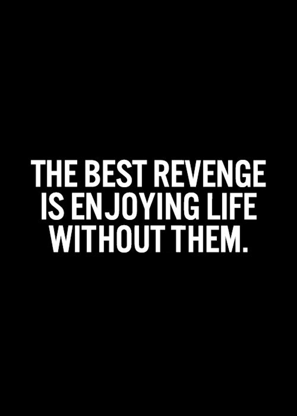 62 top revenge quotes and sayings the best revenge is enjoying life without them thecheapjerseys Images