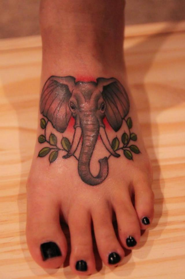 50 asian elephant tattoos collection