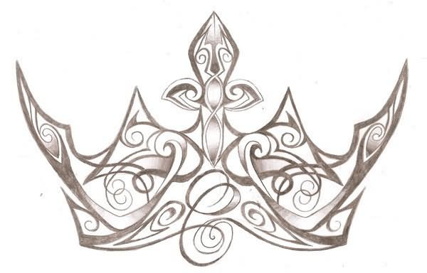 Queen Crown Tattoos Tribal 20+ Best Crown Tattoo ...