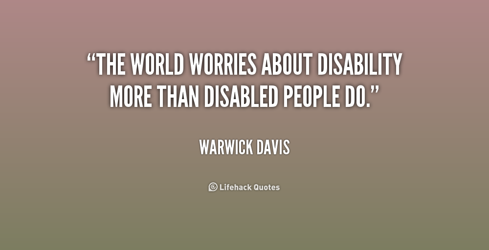 Disability Quotes Unique 64 Top Quotes And Sayings About Disability