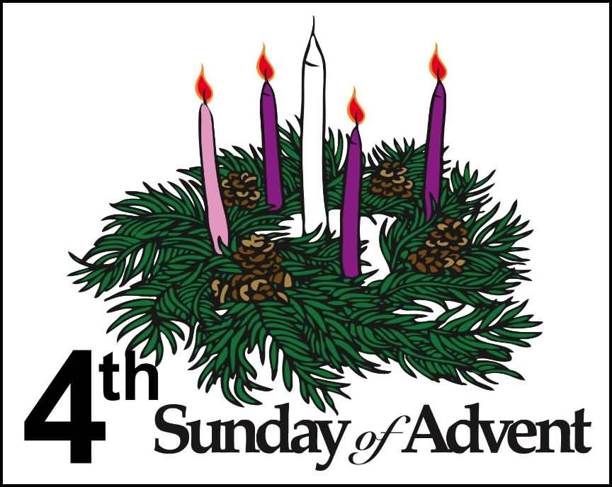 Advent sunday. Th of candles