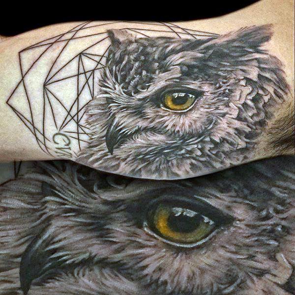 30 realistic owl tattoos ideas
