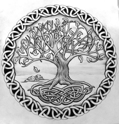 50 latest tree of life tattoos designs. Black Bedroom Furniture Sets. Home Design Ideas