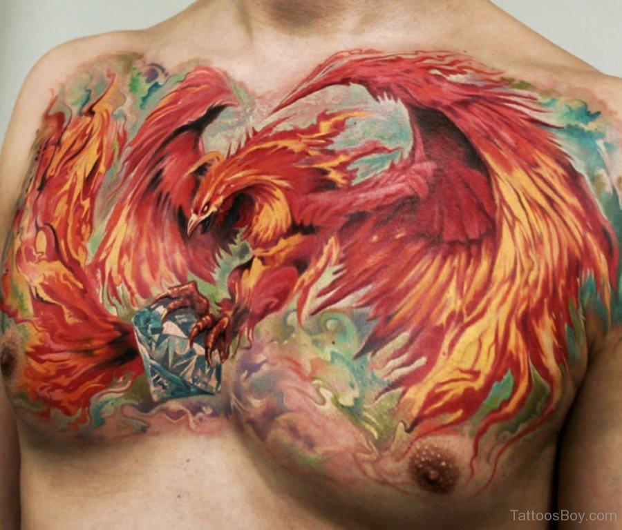 Pics photos tatuagem fenix phoenix tattoo