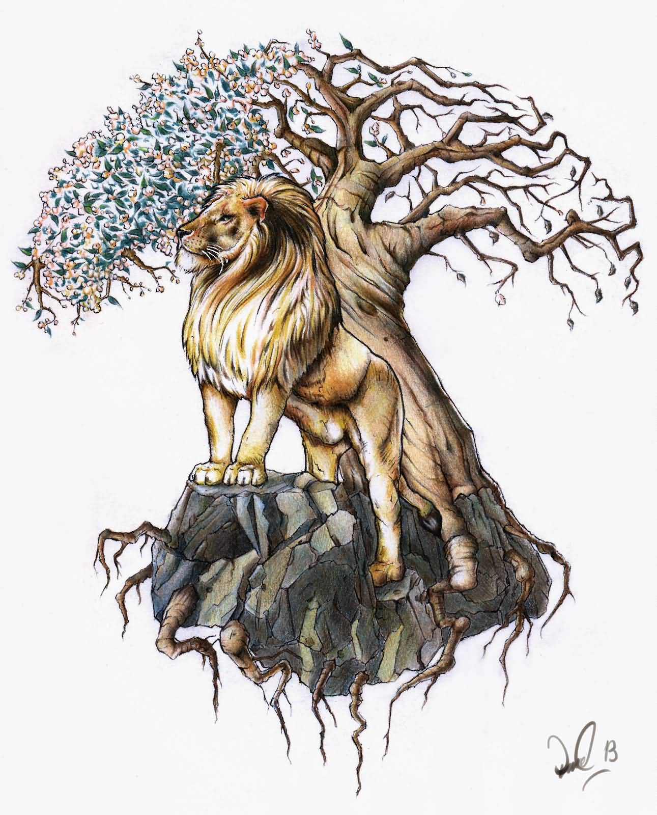 50 Latest Tree Of Life Tattoos Designs Chinese lion tattoos are a popular tattoo design in the western world. 50 latest tree of life tattoos designs