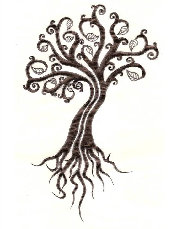 45 small tree of life tattoos collection. Black Bedroom Furniture Sets. Home Design Ideas
