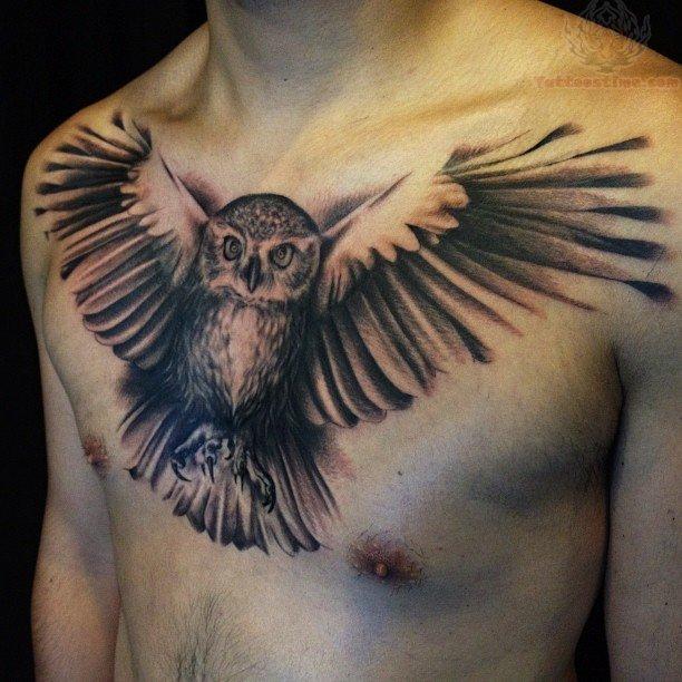 Mohawk Indian Art Owl Tattoo Ideas
