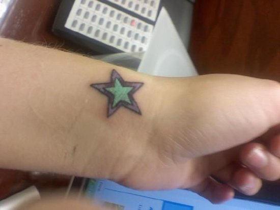 60 Best Wrist Star Tattoos
