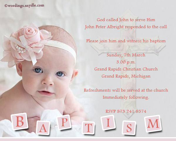 35 Best Baptism Wish Pictures And Images – Invitation Card Baptism