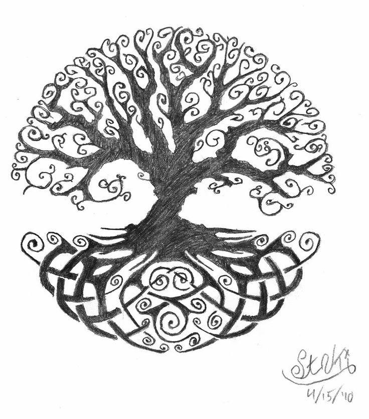 Tree Of Life Ideal Size Of A 48: 48+ Celtic Tree Of Life Tattoos Ideas