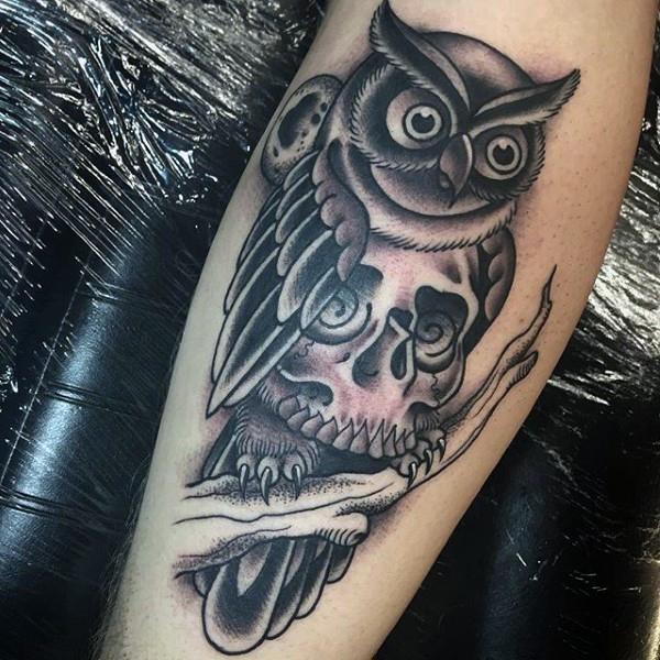 55+ Amazing Flying Owl Tattoos Ideas