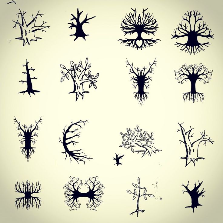 45 small tree of life tattoos collection for Small tattoo flash
