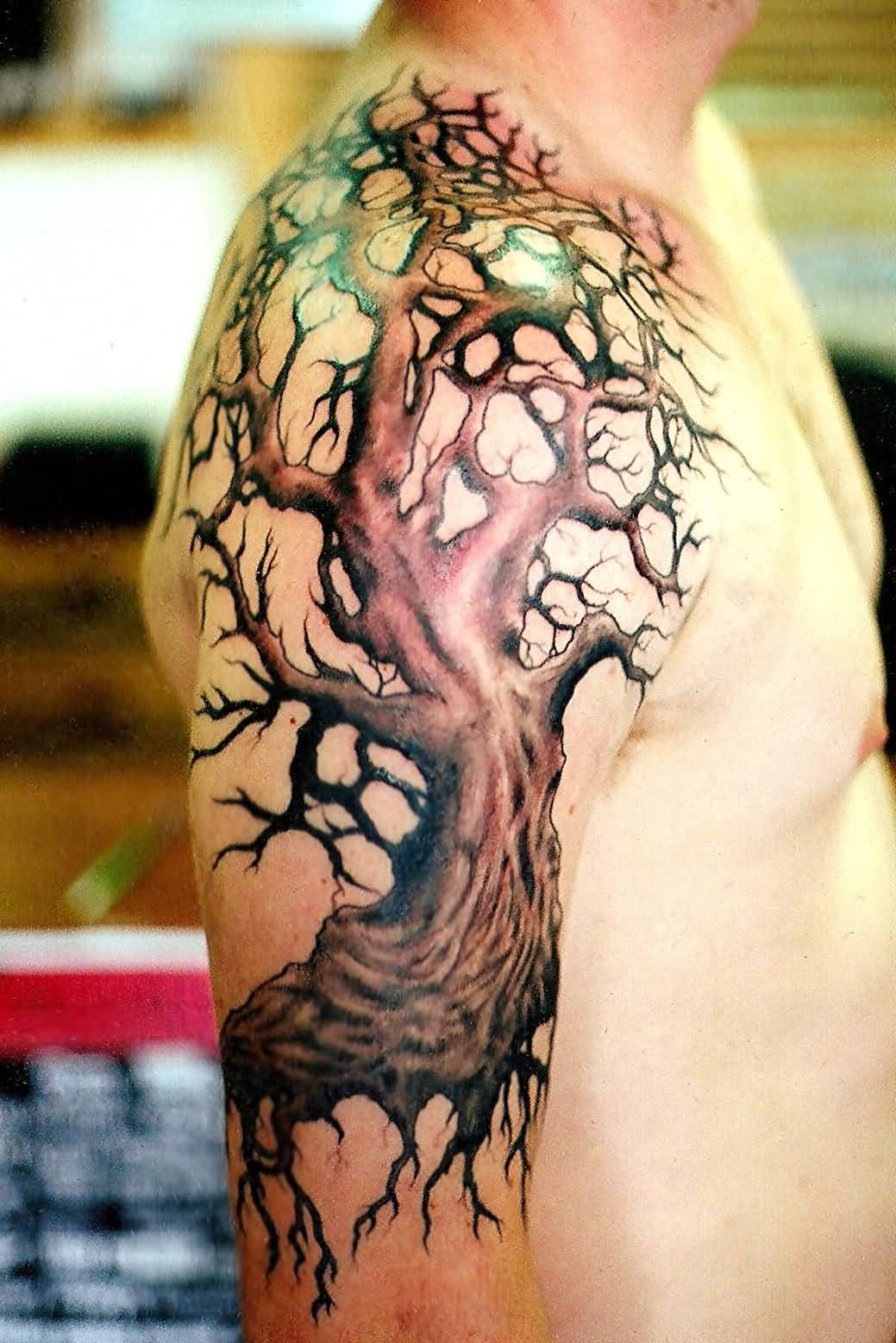 Tree Of Life Tattoo With Heart Roots: 46+ Latest Tree Of Life Tattoos