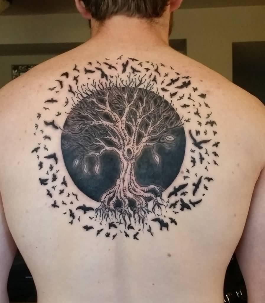 Tree Of Life Tattoo: 15+ Tree Of Life Tattoos On Back