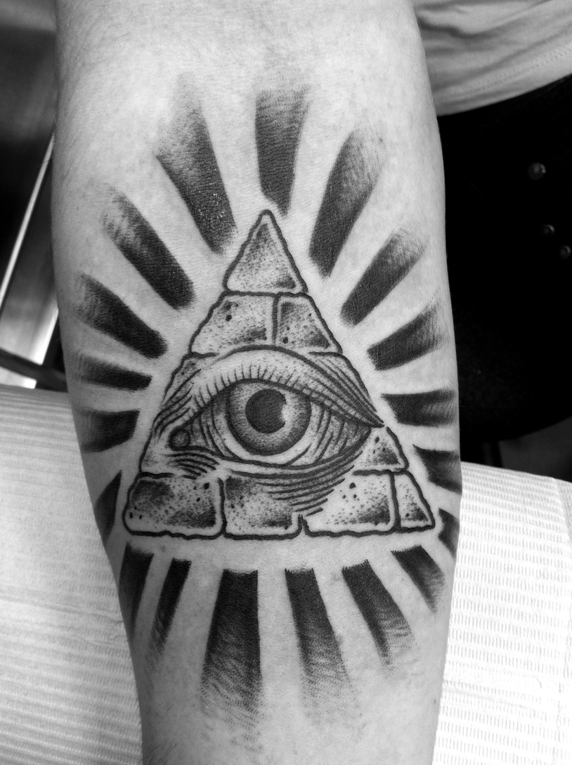 Eye For Design Bohemian Interiors And Accessories: 40+ Triangle Eye Tattoos Collection