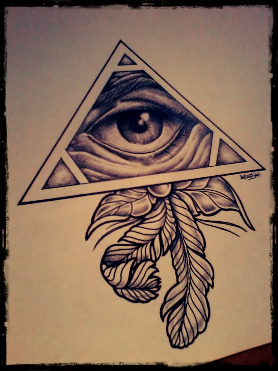 Eye For Design Bohemian Interiors And Accessories: 18+ Triangle Eye Tattoo Designs