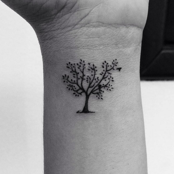 45+ Small Tree Of Life Tattoos Collection