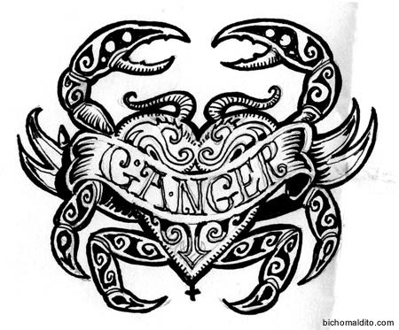 cancer zodiac sign tribal wwwpixsharkcom images
