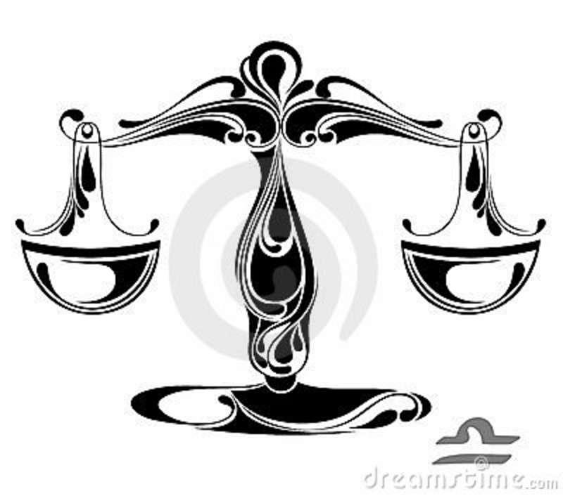 51+ Libra Zodiac Sign Tattoo Designs And Ideas