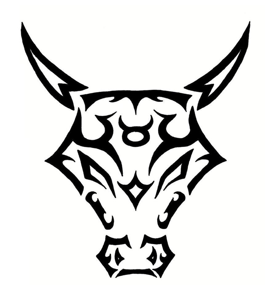63 taurus zodiac sign tattoo and designs for Taurus horoscope tattoos