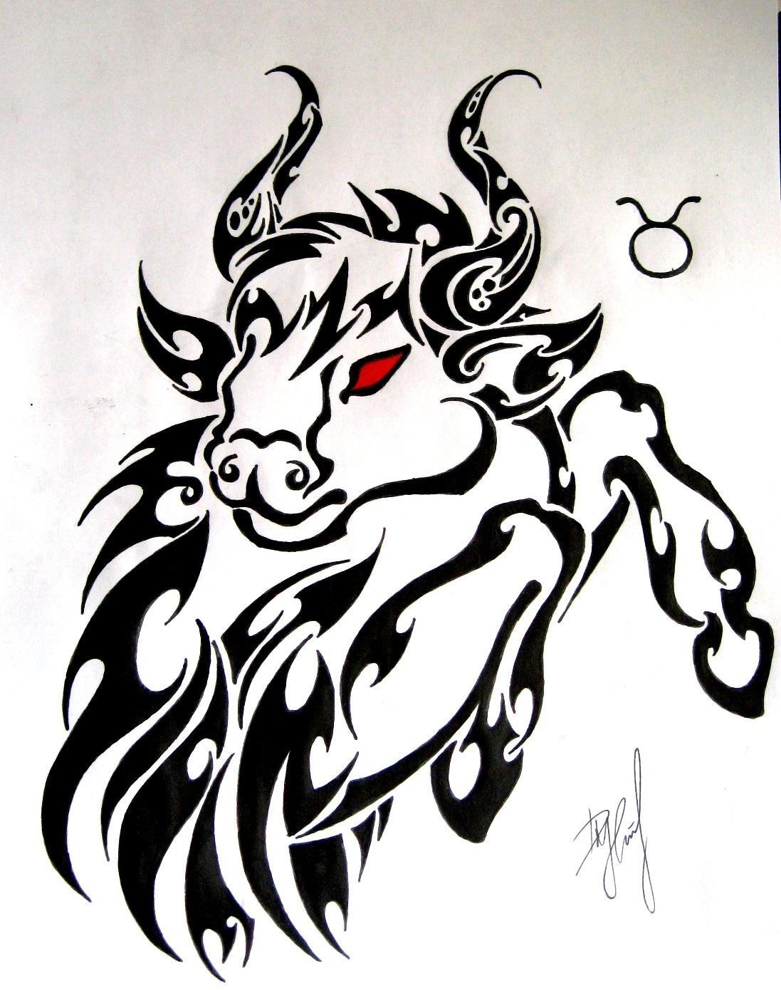 58+ Tribal Zodiac Sign...