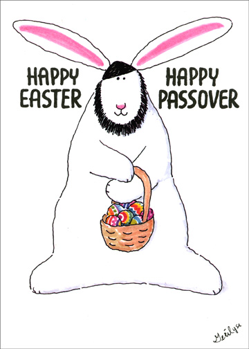 30 adorable passover 2017 greetings bunny wish easter eggs wishing you happy easter and happy passover m4hsunfo