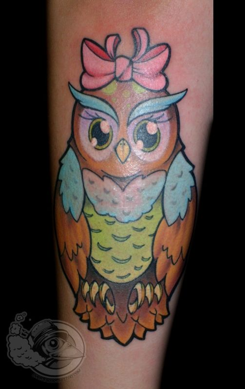 42+ Baby Owl Tattoos Collection