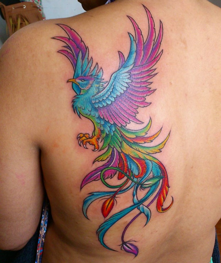 25+ Rising Phoenix From The Ashes Tattoo
