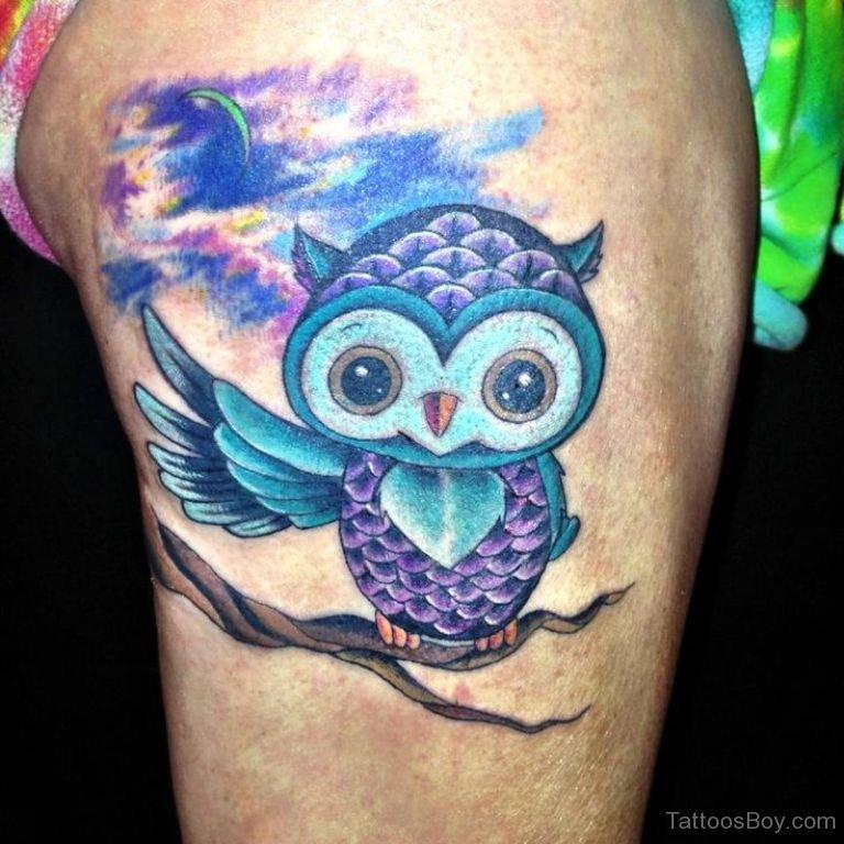 56 amazing owl bird tattoos ideas. Black Bedroom Furniture Sets. Home Design Ideas