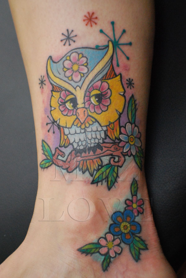 56 Amazing Owl Bird Tattoos Ideas