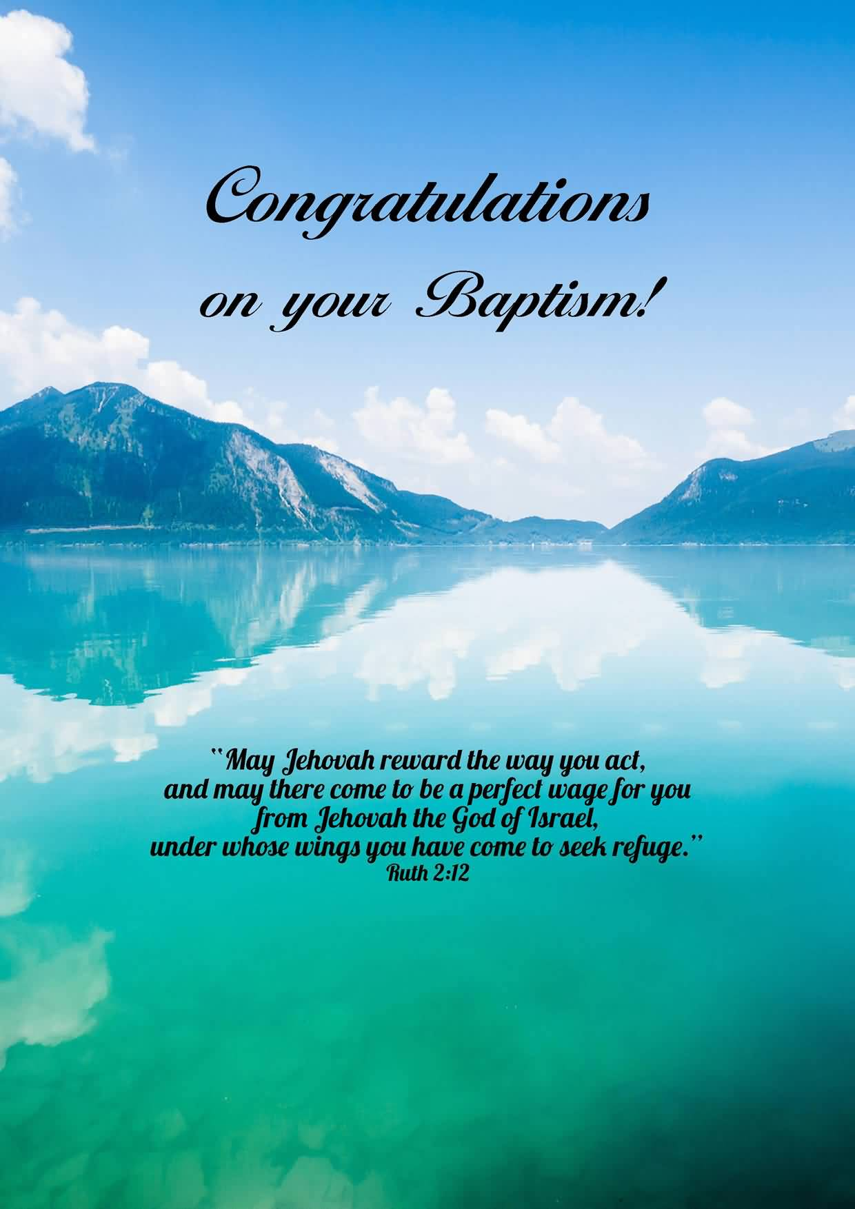 35 best baptism wish pictures and images congratulations on your baptism greeting card kristyandbryce Choice Image