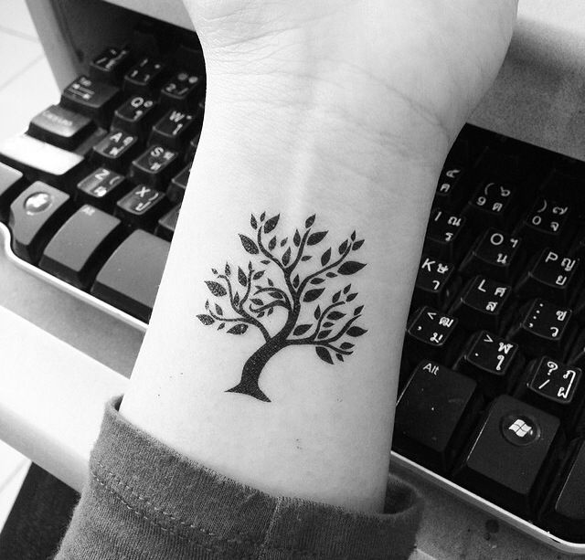 45 Small Tree Of Life Tattoos Collection