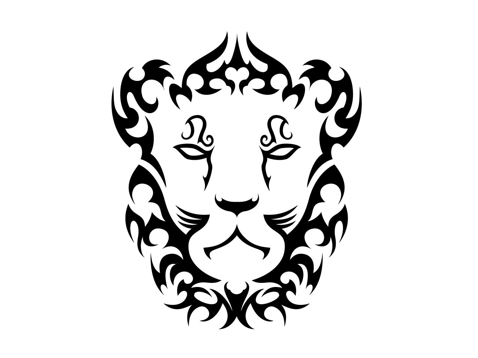 65 leo zodiac sign tattoos collection cool tribal leo head zodiac sign tattoo stencil biocorpaavc
