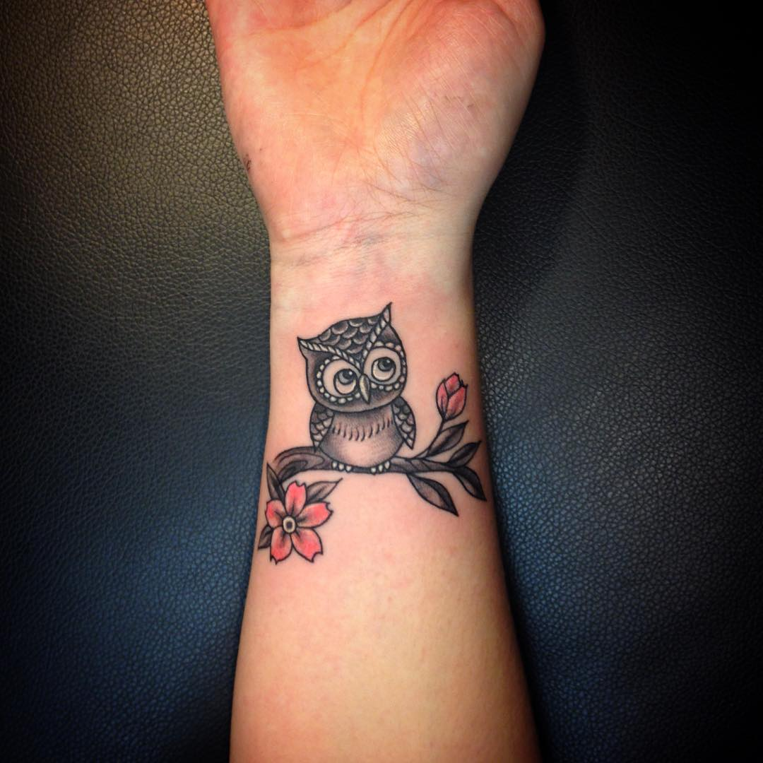 50+ Small Owl Tattoos Collection