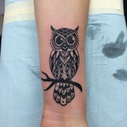 51+ Owl Tattoos On Arm