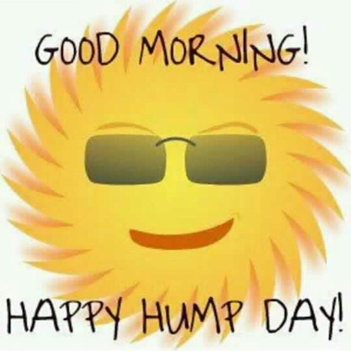Good Morning Happy Hump Day Smiley Sun With Glasses Picture