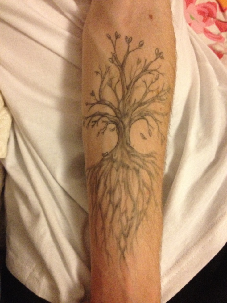 Tree Of Life Tattoo With Heart Roots: 35+ Tree Of Life Tattoos On Forearm
