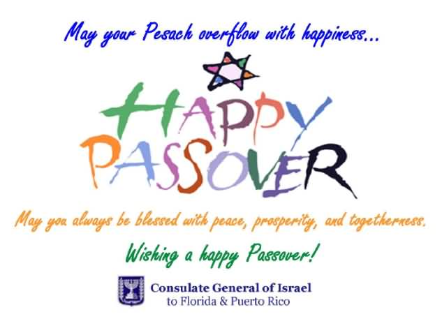 50 beautiful passover greeting pictures and images happy passover may you always be blessed with peace prosperity and togetherness wishing a happy m4hsunfo