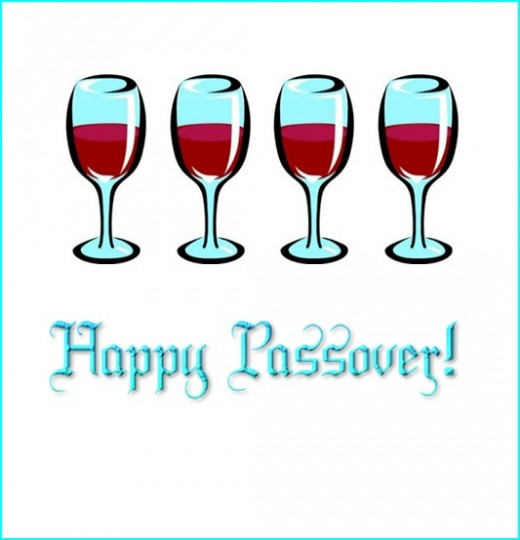 60 beautiful happy passover greeting pictures happy passover wishes with four cups of wine glasses m4hsunfo