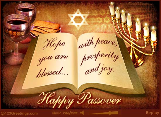 60 beautiful happy passover greeting pictures hope you are blessed with peace prosperity and joy happy passover book m4hsunfo