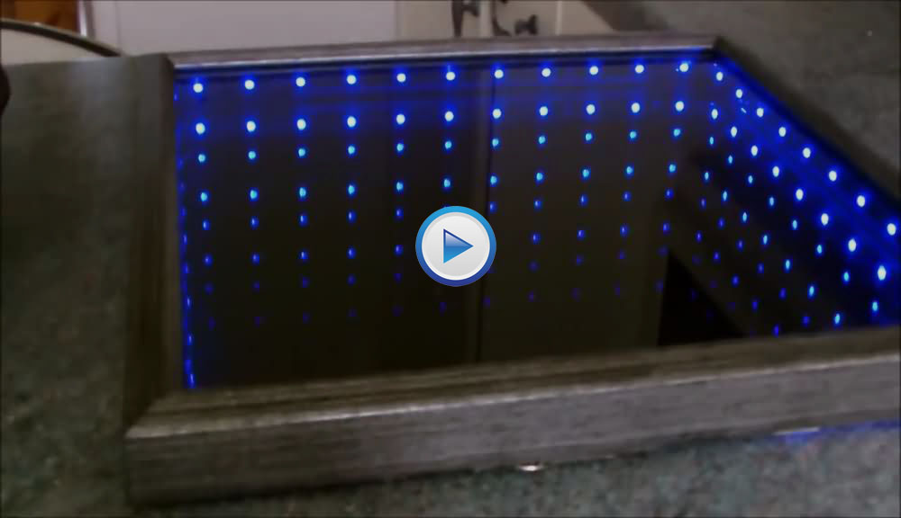 How To Make 3D LED Infinity Mirror?