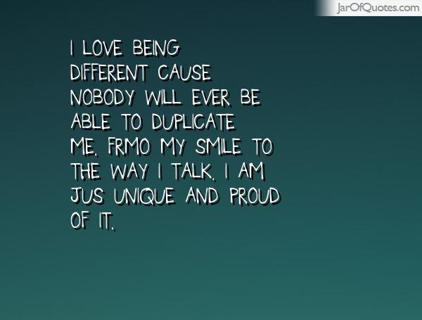Unique Quotes About Me