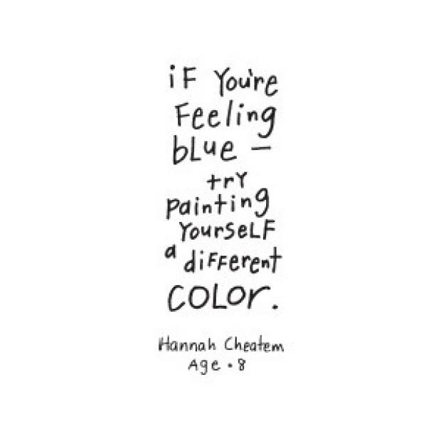 Blue Quotes Stunning 48 Best Color Quotes And Sayings