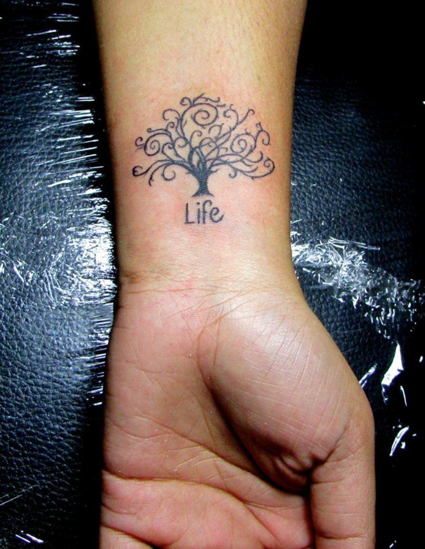 25 Tree Of Life Tattoos On Wrists