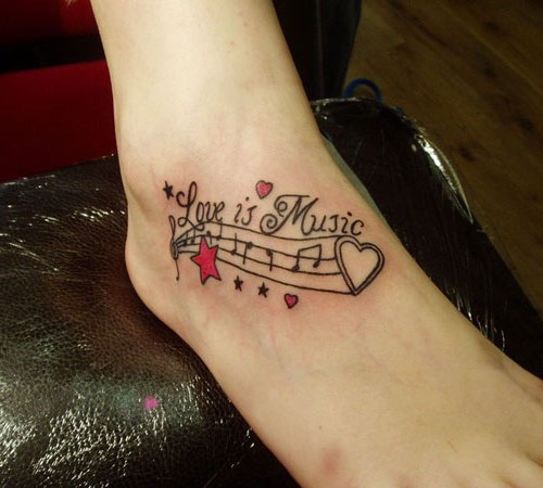 50+ Latest Foot Quotes Tattoos