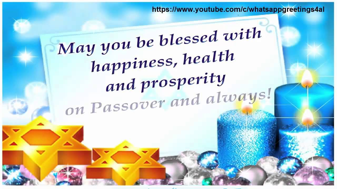 55 best passover wish pictures and photos may you be blessed with happiness health and prosperity on passover and always m4hsunfo