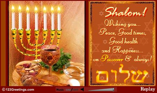 50 beautiful passover greeting pictures and images shalom wishing you peace good times good health and happiness on passover always m4hsunfo